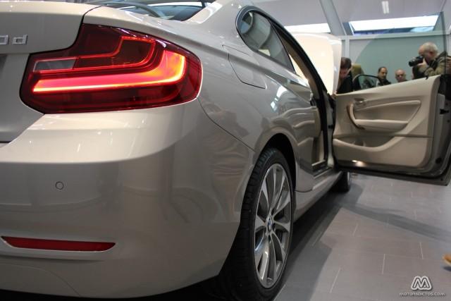 Presentación en sociedad del BMW Serie 2 Coupé 3