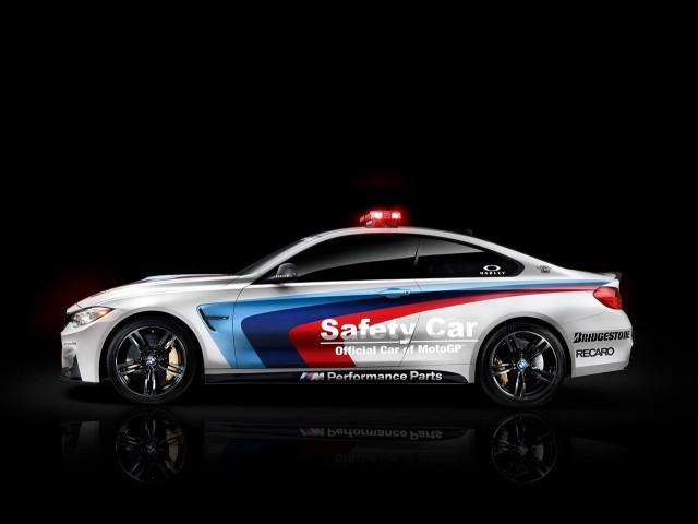 BMW M4 se estrena como coche de seguridad en MotoGP 2