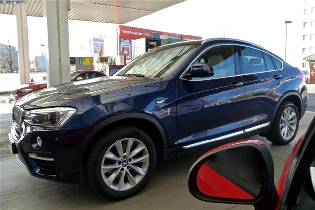 En vivo: BMW X4 de producción 2