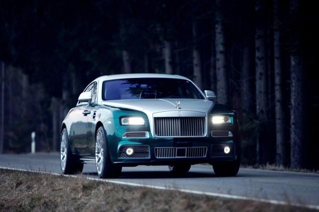 Mansory se presenta en Ginebra junto a un Rolls-Royce Wraith de 740 caballos 1