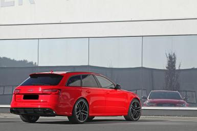Audi RS6 Avant bajo el rodillo de HPerformance