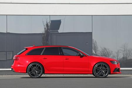 Audi RS6 Avant bajo el rodillo de HPerformance