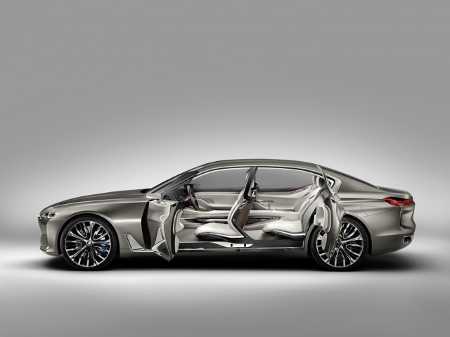 BMW Vision Future Luxury Concept: Lujo por encima del Serie 7 1