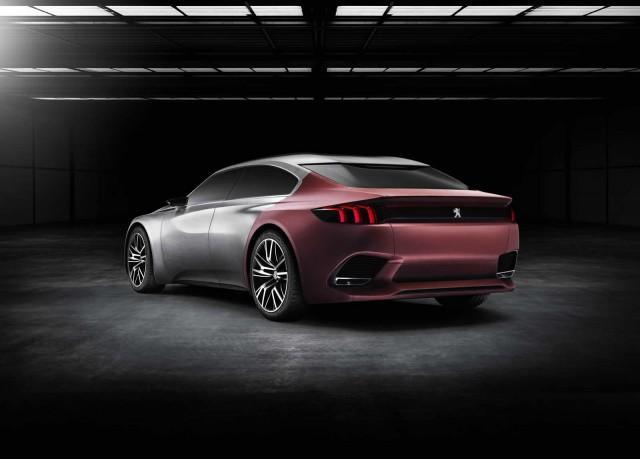 Peugeot Exalt Concept: 340 CV a través de un sistema híbrido HYbrid4 2