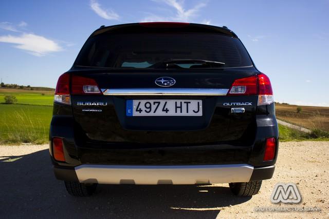Prueba: Subaru Outback Diésel Lineartronic  (diseño, habitáculo, mecánica) 3