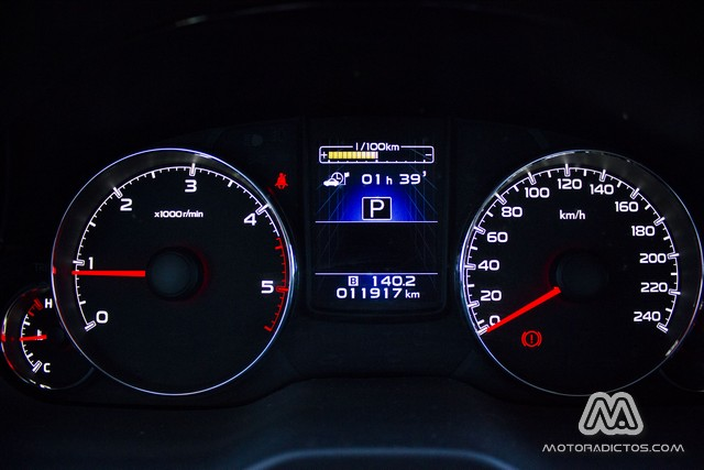 Prueba: Subaru Outback Diésel Lineartronic  (diseño, habitáculo, mecánica) 12
