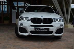 Este es el BMW X4 ataviado con el paquete M Performance