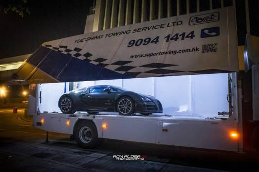 Así luce el Bugatti Veyron Super Sport Merveilleux Edition en las calles de Hong Kong
