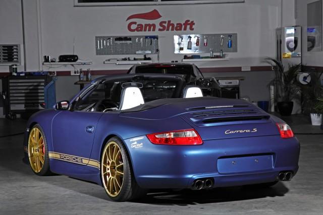 Cam Shaft y PP-Performance se unen por un Porsche 911 Carrera S Cabrio 3