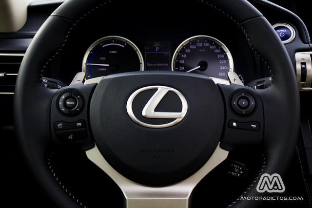 Prueba: Lexus IS 300h híbrido (equipamiento, comportamiento, conclusión) 4