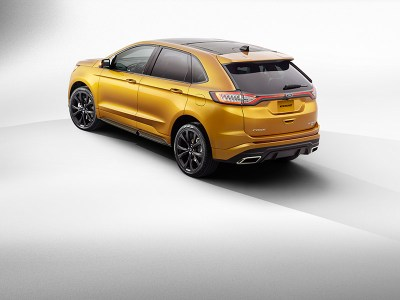 All-New 2015 Ford Edge Showcases Technology, Design and Craftsmanship