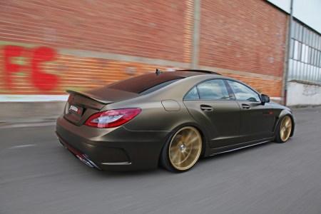 Fostla se atreve con el Mercedes CLS350 CDI