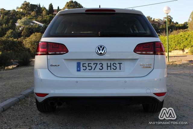 Prueba: Volkswagen Golf Variant TDI 150 CV DSG (diseño, habitáculo, mecánica) 7