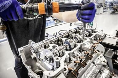 Oficial: Así es el nuevo motor V8 4.0 litros biturbo de AMG
