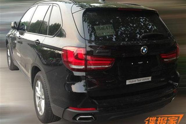 Al descubierto: BMW X5 eDrive 2