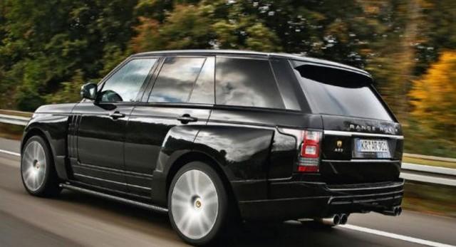 """Range Rover AR 9 Spirit, 140 caballos """"extra"""" para el Range Rover de Arden"""