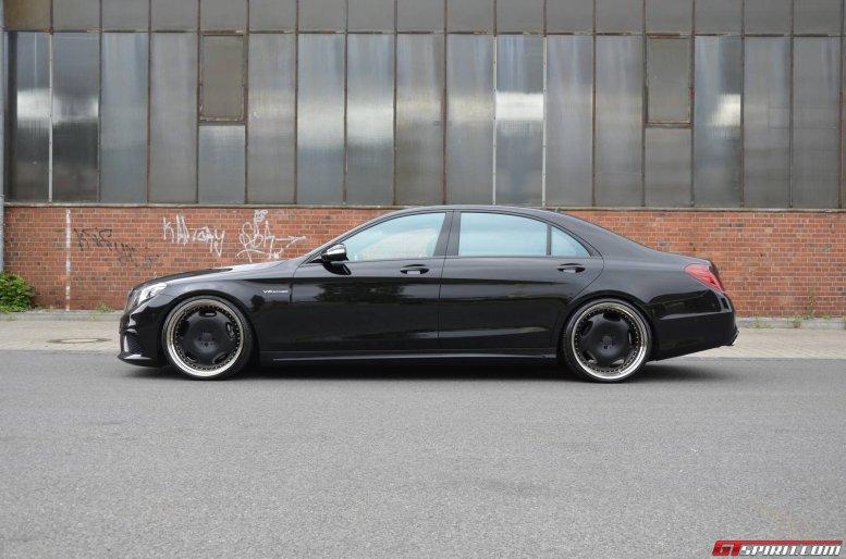 Llantas y poco más para el Mercedes S63 AMG de MEC Design