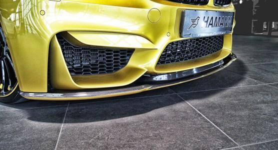 BMW M4 bajo el rodillo de Hamann