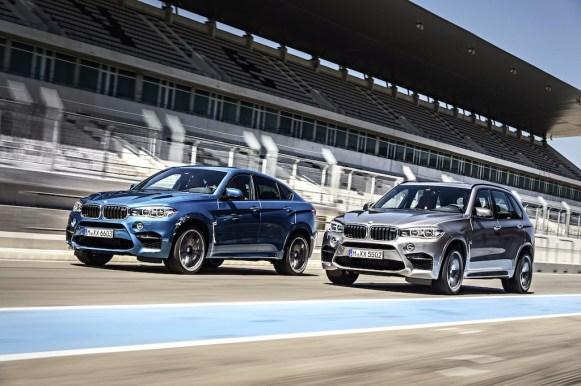 BMW X5 M y X6 M: Los SUV más potentes de la gama