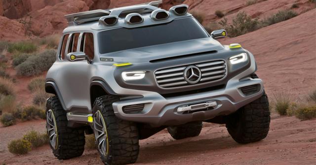 Mercedes desarrollará un todoterreno más asequible, similar al Clase G 1