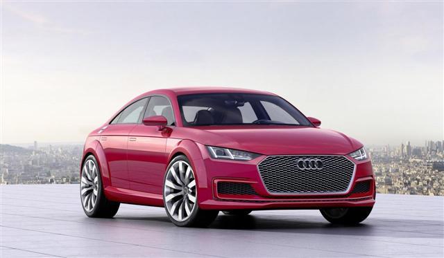 París 2014: Audi TT Sportback concept, más que un anticipo 2