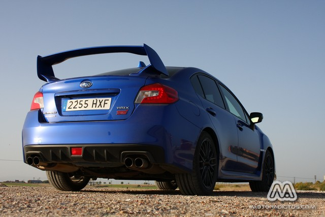 Prueba: Subaru WRX STI (diseño, habitáculo, mecánica) 3
