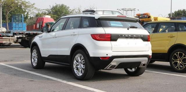 Land Rover tomará medidas legales contra el Land Wind X7 2
