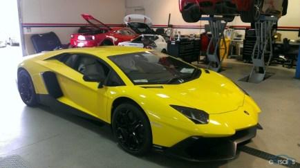 A la venta el primer Lamborghini Aventador LP720-4 entregado a un cliente