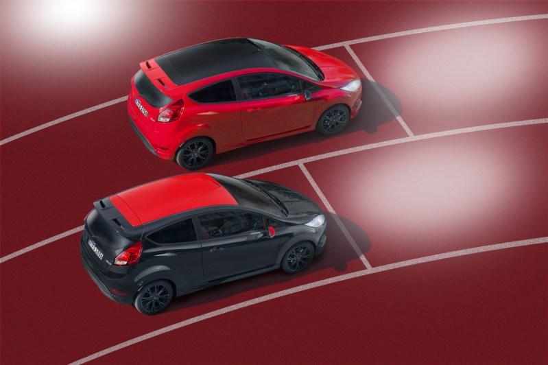 Ford anuncia los Fiesta Red y Black Edition