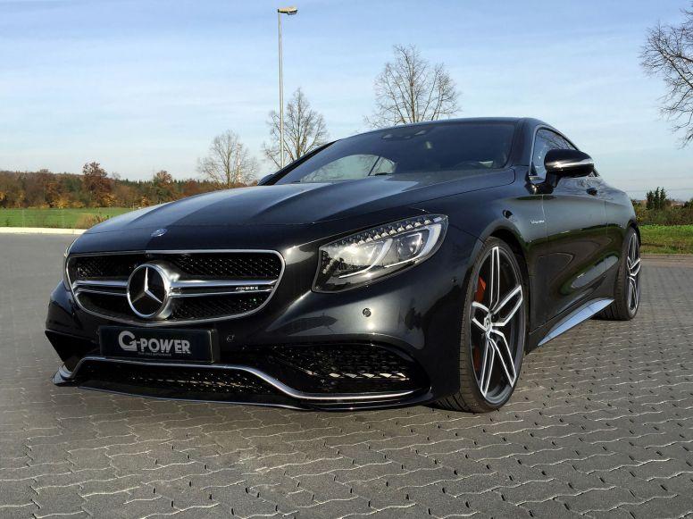 G-Power nos sorprende con un impresionante Mercedes S63 AMG Coupé