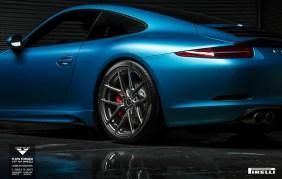 Porsche 911 Carrera S bajo el rodillo de Vorsteiners