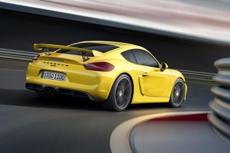 Oficial: Porsche Cayman GT4, radical y muy purista