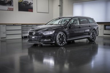 Volkswagen Passat 2015 bajo el rodillo de ABT