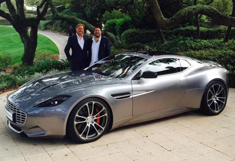 Aston Martin Thunderbolt, el Vanquish de Henry Fisker