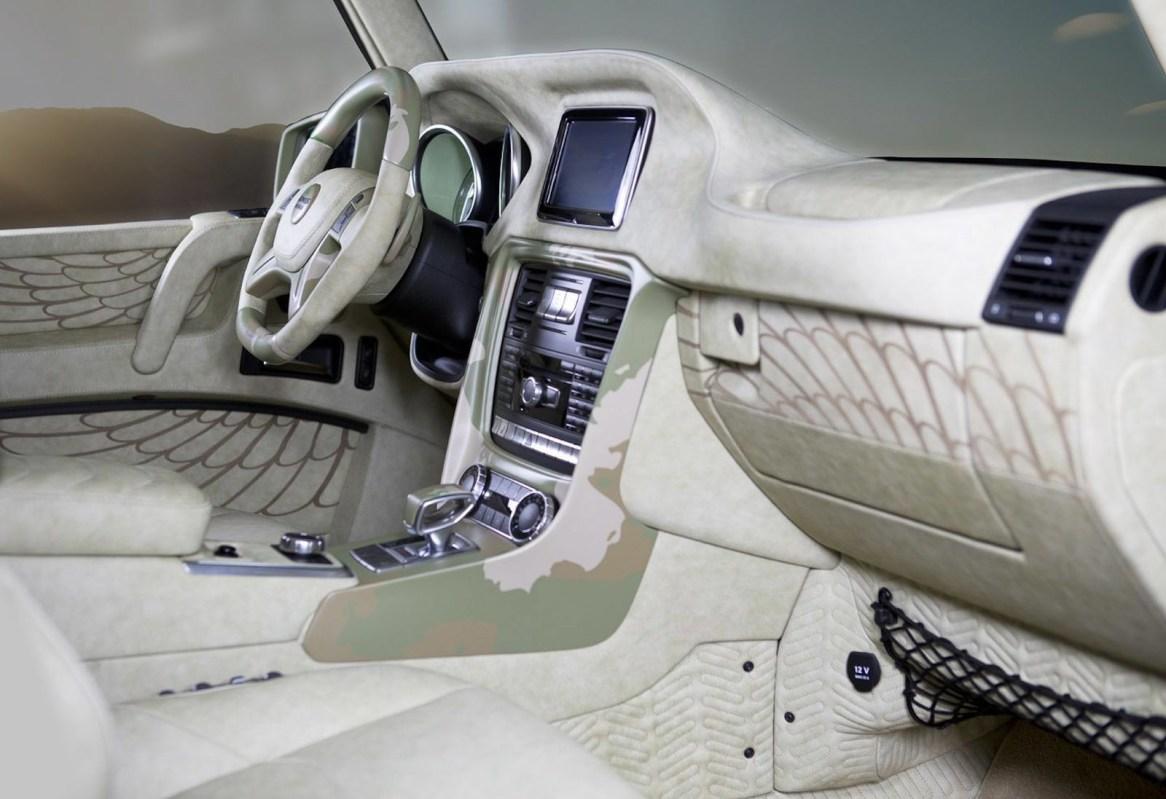 Mansory Sahara Editon, un Mercedes Clase G de 830 caballos