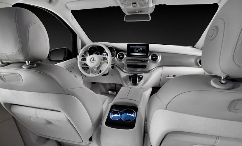 Mercedes Concept V-ision e: El futuro de las furgonetas 3
