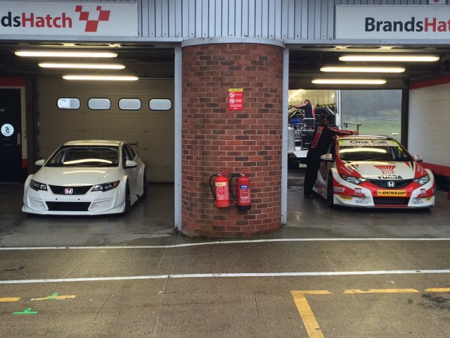 Tan sólo una semana para la presentación del Honda Civic Type R BTCC Racer
