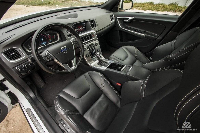 Prueba: Volvo V60 Plug-In Hybrid (diseño, habitáculo, mecánica) 4