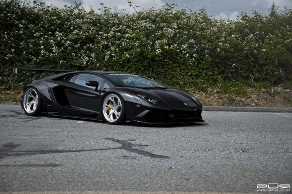 Lamborghini Aventador por SR Auto: Un ensanche de carrocería que quita el hipo