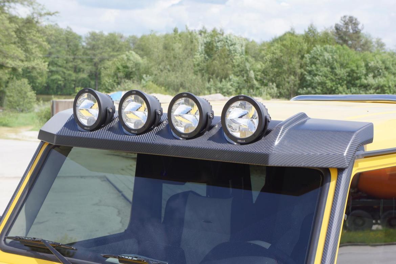 Mercedes G63 AMG 6x6 por Mansory: 840 CV y rebozado en fibra de carbono 3