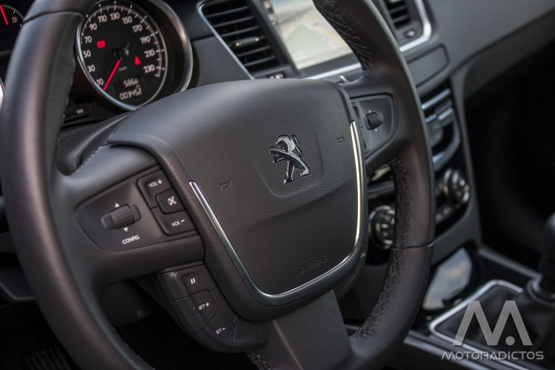 Prueba: Peugeot 508 BlueHDI 150 CV (equipamiento, comportamiento, conclusión) 7