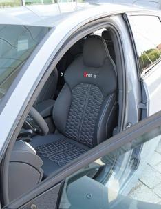 Audi nos muestra un RS3 Sportback único con llantas de fibra de carbono