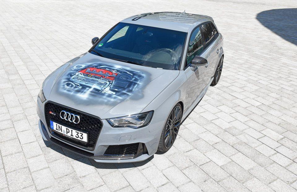 Audi nos muestra un RS3 Sportback único con llantas de fibra de carbono 1