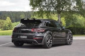 Mansory vuelve más agresivo al Porsche Macan