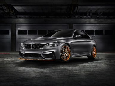 BMW Concept M4 GTS: OLED, inyección por agua y mayor potencia