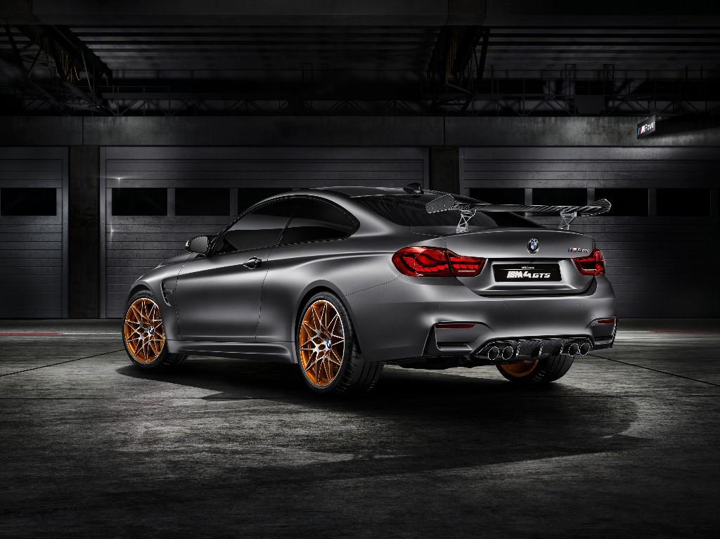 BMW Concept M4 GTS: OLED, inyección por agua y mayor potencia 1