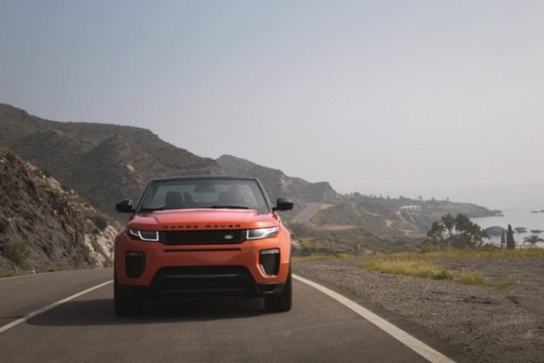 Land Rover Range Rover Evoque Convertible: El SUV a cielo abierto