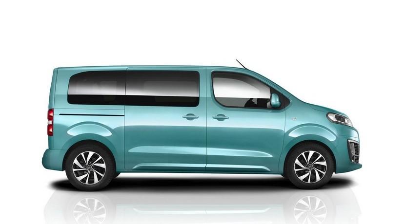 Citroën SpaceTourer: La furgoneta de nueve plazas que veremos en Ginebra 2