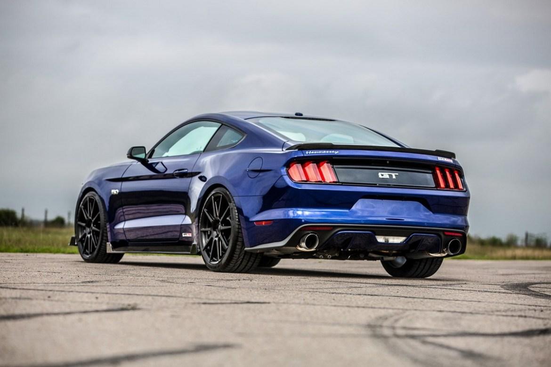 Hennessey Mustang HPE750: Cuando unes potencia y fibra de carbono salen estos resultados 2