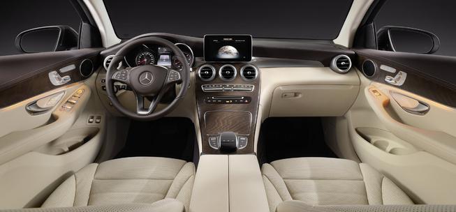Oficial: Mercedes GLC Coupé, primeras imágenes e información 1